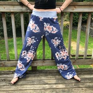Other - Floral print pj pants